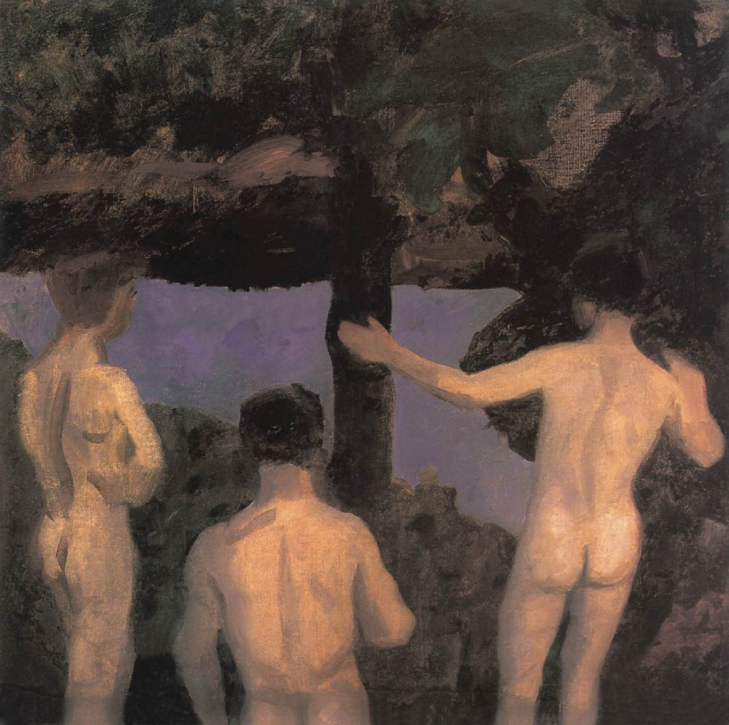 File:Ferenczy, Károly - Three Nude Boys (1912).jpg